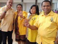 Ans Takalapeta dan Ety Tokan, Pimpin Partai Golkar Flores Timur