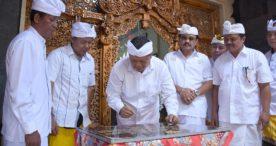 Rai Mantra Resmikan Kantor Perbekel Dangri Kelod