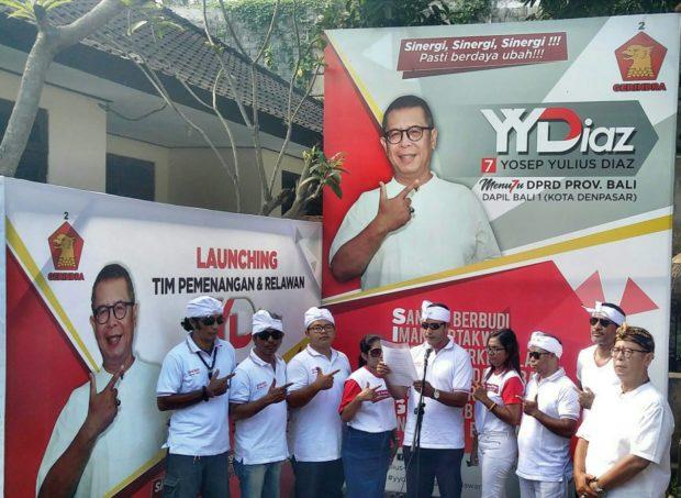 Dukung Kampanye Pemilu Damai, Relawan YYDiaz Ikrarkan Tujuh Point Petisi