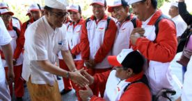 Jaya Negara Lepas Kontingen Denpasar Ikuti Pekan Paralympic Provinsi Bali ke-IV