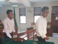 Maling Kabel Telpon, Dua Pemuda Ini Dituntut 10 Bulan Penjara