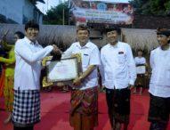 Rai Mantra Serahkan Penghargaan Kepada 30 Duta Kesenian Kota Denpasar