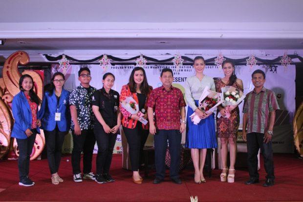 Kunjungi STIKOM Bali, Putri Indonesia 2016 Bicara Soal Teknologi dan Budaya