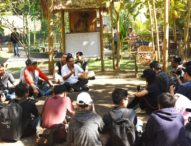 Walikota Rai Mantra Bincang Asik Dengan Komunitas di Tukad Bindu