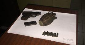 Bongkar Rumah, Malah Temukan Pistol, Amunisi dan Granat Aktif