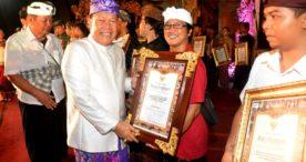Parade Gong Kebyar dan Kesenian Klasik 2018 Kota Denpasar di Tutup