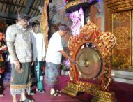 Rai Mantra Buka Parade Gong Kebyar & Kesenian Klasik Tahun 2018