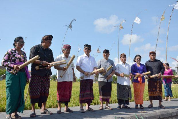 Dukung Program Subak Lestari, Jaya Negara Buka Lomba Petakut, Pindekan lan Sunari