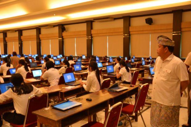 Lolos Seleksi Administrasi-3.901 Pelamar CPNS Denpasar Ikuti Test SKD