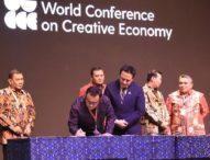 Pemkot Denpasar Teken MoU Dengan Bekraf RI; Ekonomi Kreatif Penggerak Perekonomian Dukung Pembangunan