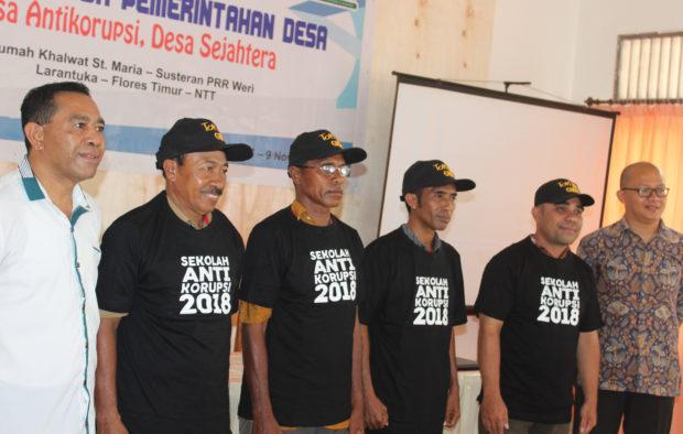 ICW Gelar Sekolah Anti Korupsi Bagi Aparatur Perangkat Desa di Flotim