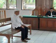 Jadi Kurir Ganja dan Sabu, Seorang Sopir Dituntut 16 Tahun Penjara