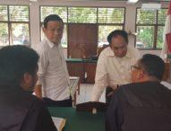 Diduga Memeras Kontraktor, Mantan Bos Judi Dingdong Diadili