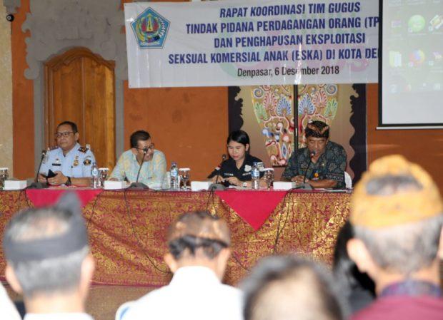 Tingkatkan Pengawasan TPPO, Pemkot Denpasar Tingkatkan Koordinasi Dengan Instansi Terkait