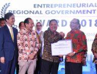 Rai Mantra Dinobatkan Sebagai Walikota Entrepreneur Award 2018