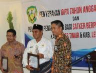 Dinas Sosial Lembata dan Flotim Raih Penghargaan IKPA Terbaik