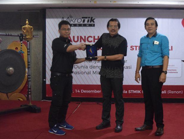 Launching MikroTik Academy STIKOM Bali