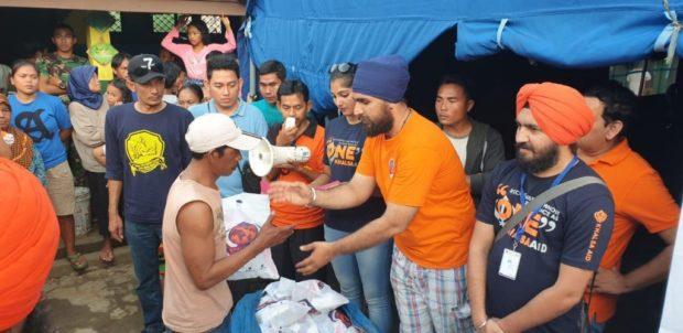 Hadir di Indonesia, Komunitas Sosial India Peduli Korban Bencana Alam