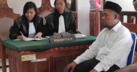 Edarkan Pil Koplo, Gendut Dituntut 8 Tahun Penjara