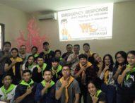 Kaum Millenial Denpasar Dapat Pelatihan Emergency Response Jilid Dua