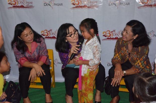 Ny. Selly Mantra Buka Porseni PAUD; Tingkatkan Profesional Pendidik Wujudkan Denpasar Bestari