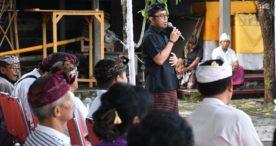 "Jaya Negara Hadiri ""Nuasen"" GKW Puspasari dan Sekaa GKD Sapta Yowana Kanti"