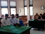 Maling Tas Bule, Tiga Pria Ini Dituntut Dua Tahun Penjara