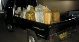 Diciduk Satuan Narkoba Polres Flotim,Pemilik 735 Liter Arak Lompat dan Kabur