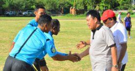 Sepak Bola Jago Kapuk Meriahkan HUT Kota Denpasar ke 231