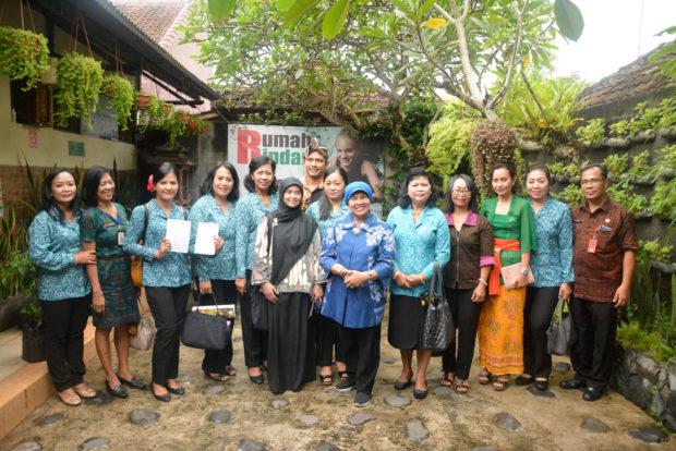 Raih Juara I, Kelurahan Kesiman Wakil Bali Pada Lomba LBS Tingkat Nasional