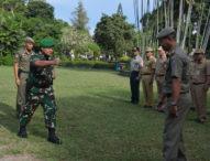 Pemkot Denpasar Gelar Apel Pasukan Pengamanan Hari Suci Nyepi