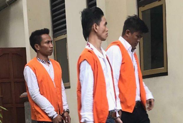 Trio Pengedar Sabu Lintas Pulau Divonis Bervariasi