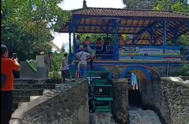 Obyek Wisata Tukad Bindu Kini Miliki PLTHM Berkapasitas 7.500 Watt