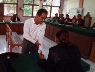 Tukang Tempel Sabu Dituntut Sembilan Tahun Penjara