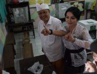 Rai Mantra Nyoblos di TPS 15, Jaya Negara TPS 18