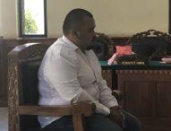 Kecanduan Sabu, Anak Ketua DPRD Klungkung Dituntut Satu Tahun