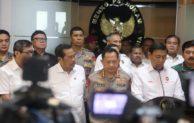 Bahas Situasi Nasional Pasca Pemilu 2019, Menkopolhukam Gelar Rakor