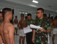 Pangdam Pimpin Sidang Cata PK TNI AD TA 2019