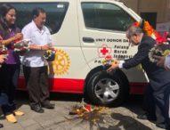 Rotary Club of Bali Taman Serahkan Bantuan MTD ke PMI Bali