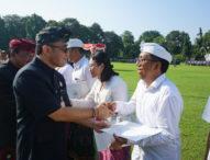 Jaya Negara Serahkan 238 SK. CPNS di Pemkot Denpasar