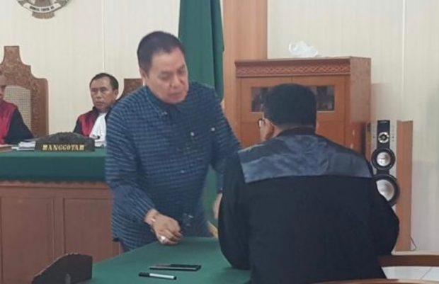 Terdakwa Penggelapan Sertifikat Senilai Rp. 7 M, Hanya Divonis 1,5 Bulan Penjara