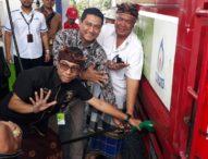 Gandeng Bank Mandiri,Pertamina Launching Program Skidlite Menggunakan e-money