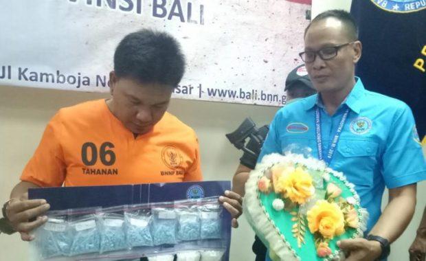 BNN Bali Gagalkan Penyelundupan 992 Butir Ekstasi dan 300,27 Gram Sabu