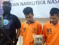 Dua Kurir Ganja dari Medan Ditangkap BNN