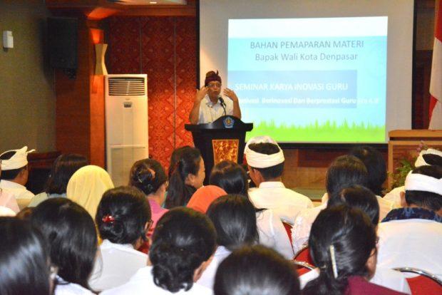 Pemkot Denpasar Gelar Seminar Karya Inovasi Guru SD