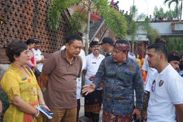 Presiden Jokowi Dijadwalkan Kembali Kunjungi Pasar Badung Sabtu Pagi