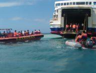Terseret Arus,  KMP Swarna Cakra Kandas di Pelabuhan Padangbai