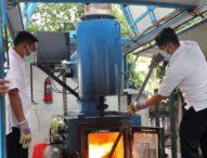 BNN Bali Musnahkan BB Sabu Senilai Rp3 Milyar