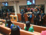 Razia THM, Manager Karaoke Karena Positif Sabu Diamankan Petugas Gabungan