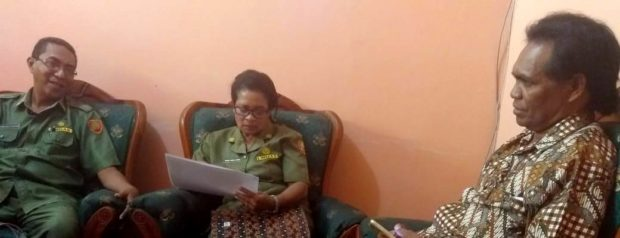 Pengelolaan Dana BOS SDK Kokang,Manajer BOS Flotim Kaget